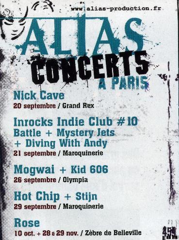 Concerts Alias
